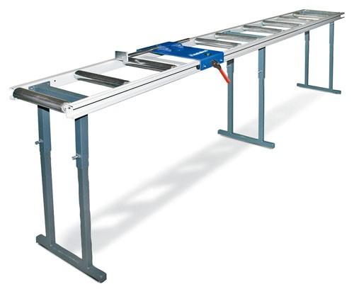 Metallkraft Rollen- und Messbahnsystem MRB LC-B 4 m