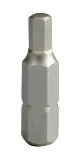 """Projahn 1/4"""" Bit L25 mm Innen-6kant 2,5 mm"""