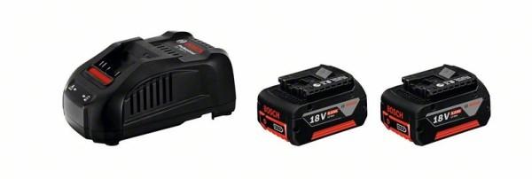BOSCH Starter-Set 2x 18V 5.0Ah + GAL 1880 CV
