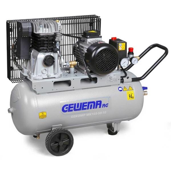 GEWEMA Mobiler Kolbenkompressor Typ GEKOMP MK103-50-10