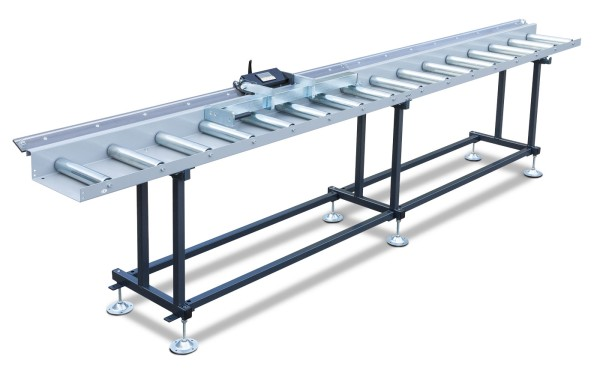 Metallkraft Rollen- und Messbahnsystem MRB Standard EKF - Breite 400 mm. Länge 4 m