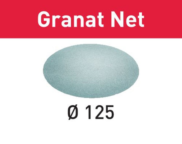 FESTOOL Netzschleifmittel Granat Net STF D125 P180 GR NET/50