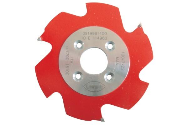 LAMELLO P-System-Nutfräser, HW, für Zeta 100.9x7x22mm, Z3, für Clamex P