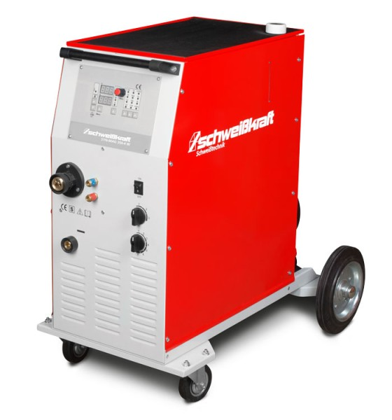 Schweisskraft stufengeschaltete Schutzgasschweißanlage SYN-MAG 350-4W