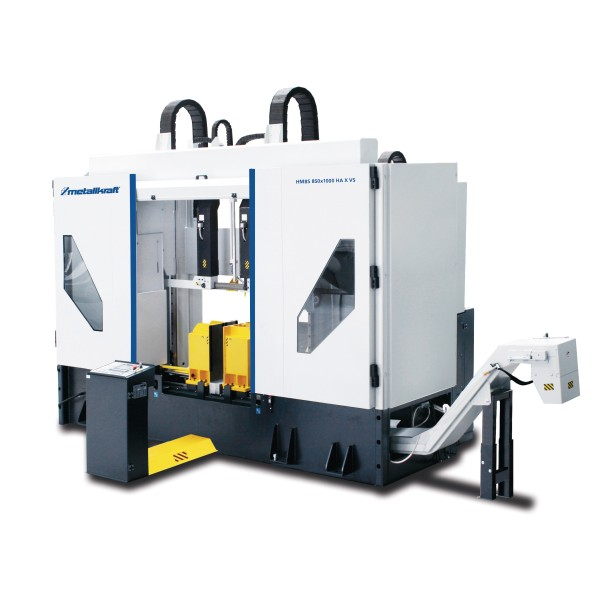 Metallkraft Halbautomatische Zwei-Säulen-Horizontal-Metallbandsäge für den schweren industriellen Einsatz HMBS 850 x 1000 HA X-VS