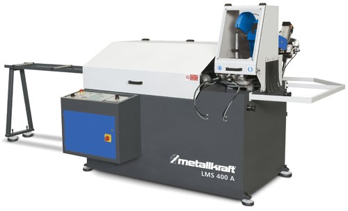 Metallkraft Automatische Kreissägemaschine im Aktions-Set mit Sägeblatt LMS 400 A Aktions-Set