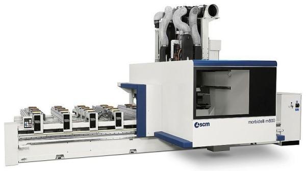 SCM CNC-gesteuertes Bearbeitungszentrum M800 Author Morbidelli
