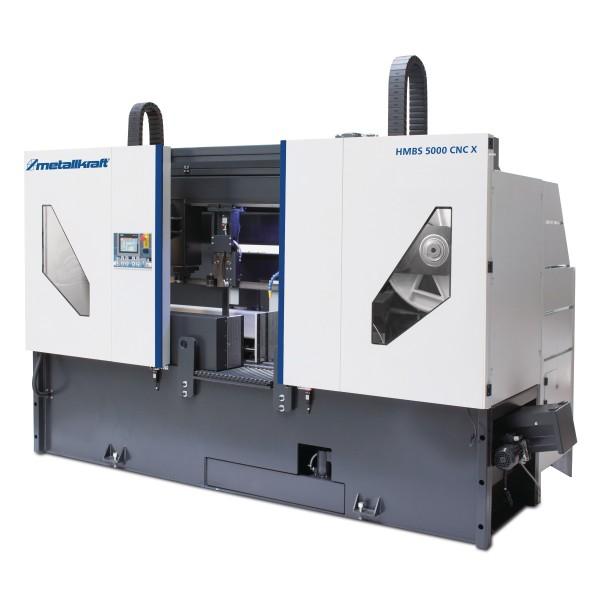 Metallkraft Zwei-Säulen-Horizontal-Metallbandsäge HMBS 5000 CNC X