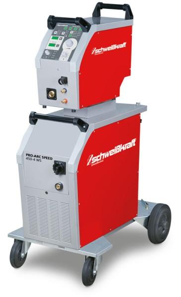 Schweisskraft stufenlose MIG/MAG Schutzgasschweißanlage PRO-ARC SPEED 450-4 WS