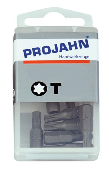 """Projahn 1/4"""" Bit L25 mm TX T10 10er Pack"""