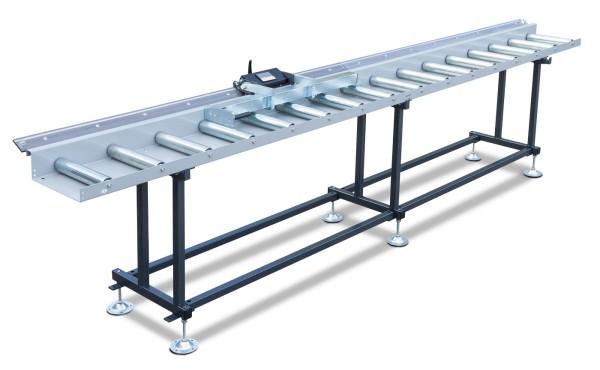 Metallkraft Rollen- und Messbahnsystem MRB Standard EKF - Breite 400 mm. Länge 2 m