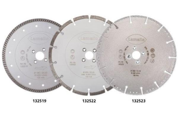 Lamello Diamant-Trennscheibe D200 mm für KS-Fenster mit Stahlkern