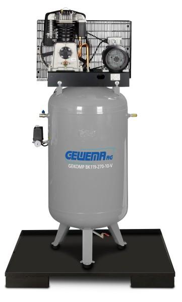 GEWEMA Kolbenkompressor GEKOMP BK119-270-10V