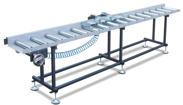 Metallkraft Rollen- und Messbahnsystem MRB Standard A - Breite 400 mm. Länge 4 m