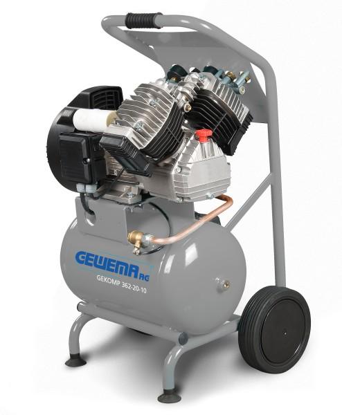 GEWEMA Kolbenkompressor GEKOMP 362-20-10