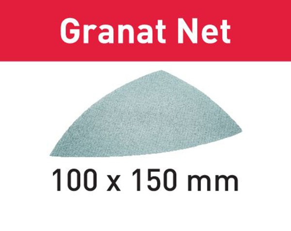 FESTOOL Netzschleifmittel Granat Net STF DELTA P100 GR NET/50