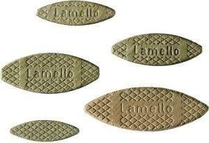 Lamello Holzverbindungsplättchen Gr. 0 (1000 Stück)