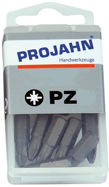 """Projahn 1/4"""" Bit L25 mm Pozidriv Nr 0 10er Pack"""