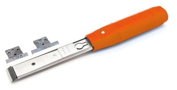 Brück RALI SHARK Stechbeitel Typ L kpl. mit je 1 Ersatz-Wechselmesser 25; 30 und 40 mm Schnittbreite