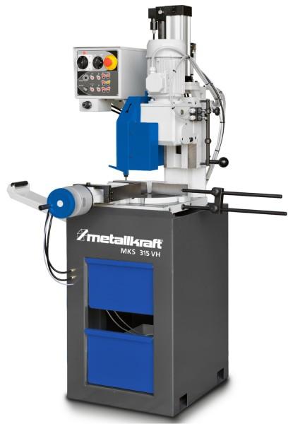 Metallkraft Halbautomatische Vertikal-Metallkreissäge im Aktionsset  MKS 315 VH Aktions-Set