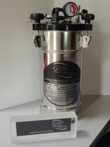 GMC Leimbehälter aus Edelstahl 10 kg