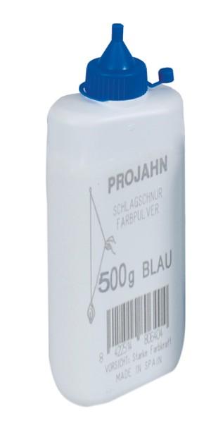 Projahn Farbpulverflasche 500g blau fuer Schlagschnurroller