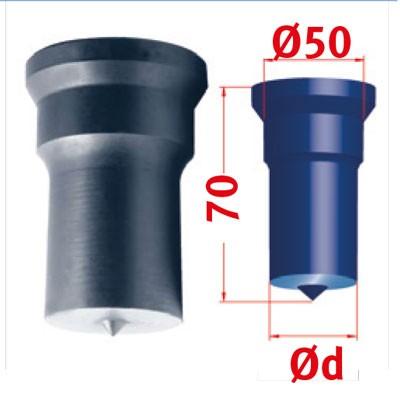 Metallkraft Rundstempel für Mubea Lochstanzen Rundstempel Nr.4 Ø 50 mm