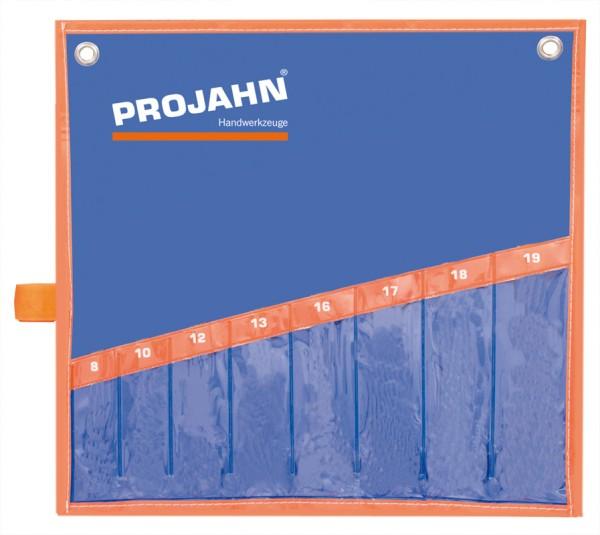 Projahn Rolltasche fuer Artikel 2216 Offener Doppelringschluessel Satz metrisch 6tlg