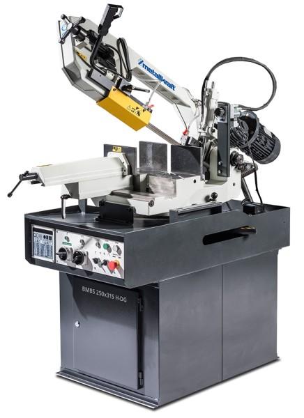Metallkraft Hydraulische Schwenkrahmen-Metallbandsäge für Gehrungsschnitte von +60° bis -45° BMBS 250 x 315 H-DG