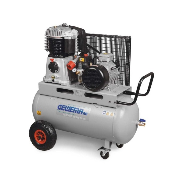 GEWEMA Mobiler Kolbenkompressor Typ GEKOMP MK119-90-10
