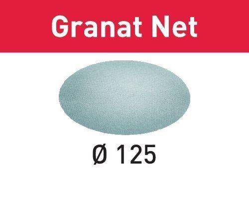 FESTOOL Netzschleifmittel Granat Net STF D125 P400 GR NET/50
