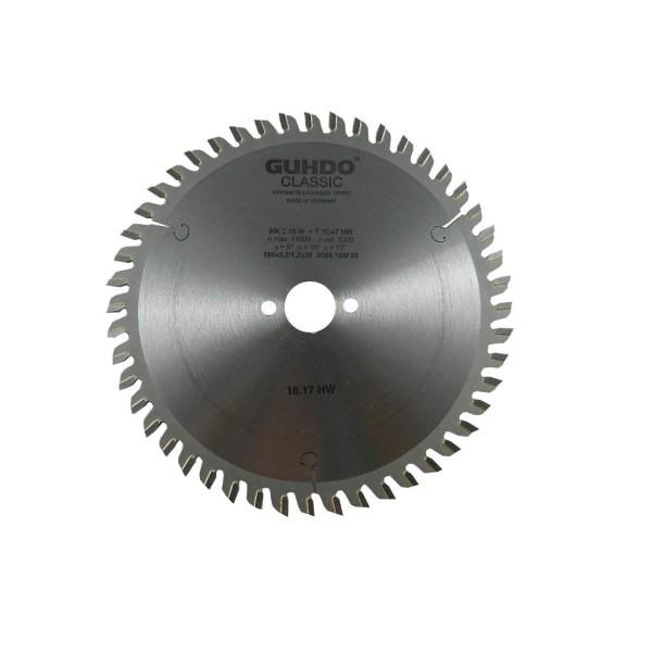 Guhdo HW-Kreissägeblatt 160 x 2,2/1,2 x 20 mm Z48W