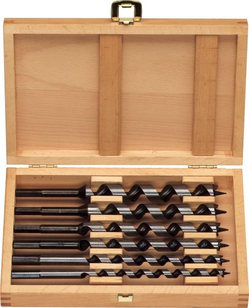 Projahn S Holz Schlangenbohrer L 230 mm Holzkassette 6tlg