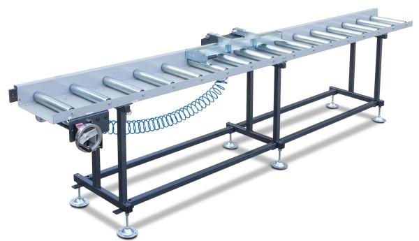 Metallkraft Rollen- und Messbahnsystem MRB Standard A - Breite 400 mm. Länge 7 m