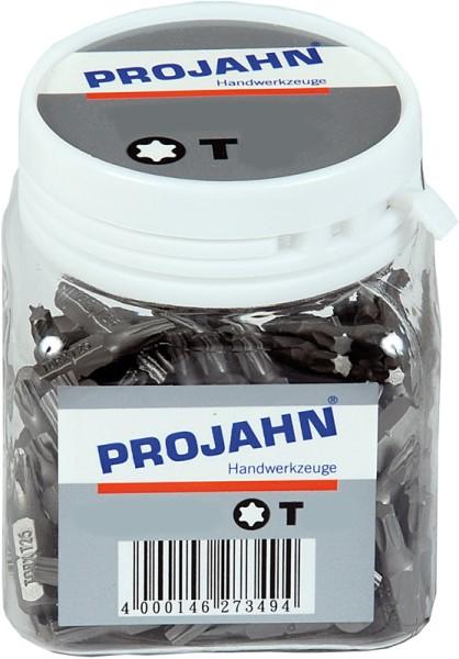 """Projahn 1/4"""" Bit L25 mm TX T15 100er Pack"""