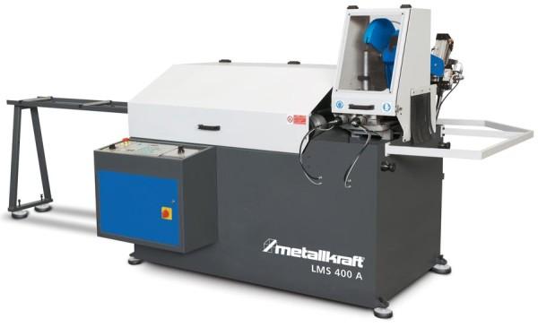 Metallkraft Automatische Kreissägemaschine zum Schneiden von Vollmaterial und Profilen in Aluminium und Leichtmetall-Legierungen LMS 400 A