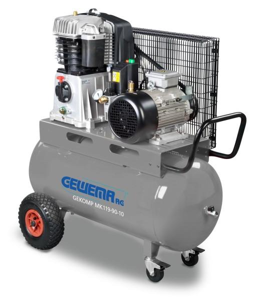 GEWEMA Kolbenkompressor GEKOMP BK119-90-10