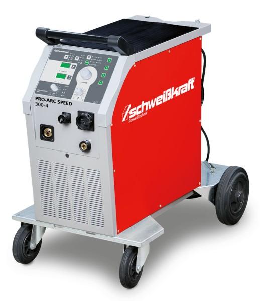 Schweisskraft stufenlose MIG/MAG Schutzgasschweißanlage PRO-ARC SPEED 300-4