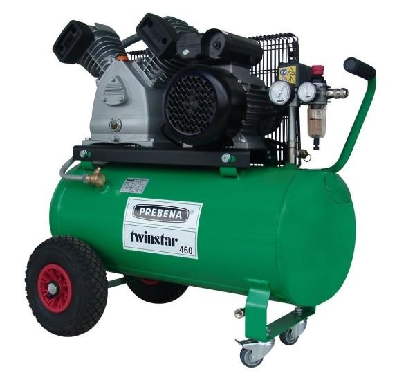 Prebena Baustellenkompressor TWINSTAR 460 410l/