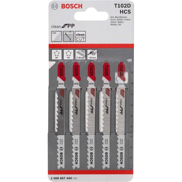 Bosch Stichsägeblätter T102D