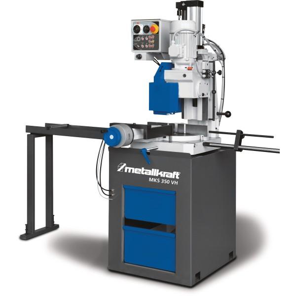 Metallkraft Halbautomatische Vertikal-MetallkreissägeHalbautomatische Vertikal-Metallkreissäge mit 350 mm Sägeblatt MKS 350 VH