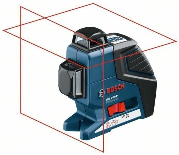 Bosch Linienlaser GLL 2-80 P + BS 150