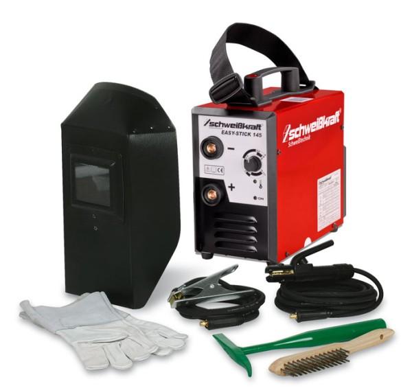 Schweisskraft Elektrodeninverter mit Aktions-Set EASY-STICK 145 Aktions-Set