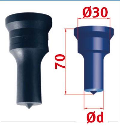 Metallkraft Rundstempel für Mubea Lochstanzen Rundstempel Nr.2 Ø 25.5 mm