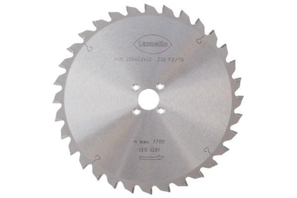 LAMELLO Sägeblatt Ø 200x2.2x22 mm, Z32