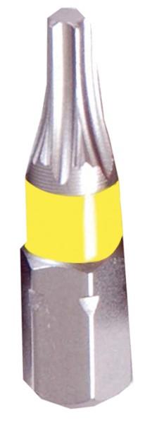 """Projahn 1/4"""" markierter Bit L25 mm TX T10 3er Pack"""