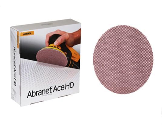 MIRKA Schleifscheibe Abranet Ace HD 150 mm Grip P80, 25/Pack