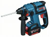 BOSCH Akku-Bohrhammer GBH 18V-EC 2 x 5,0 Ah L-Boxx