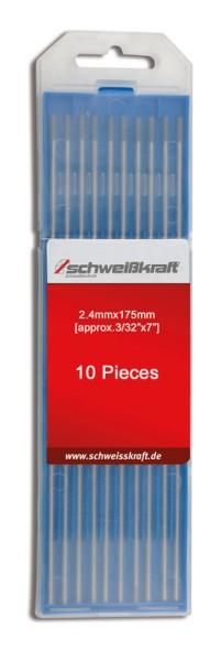 Schweisskraft Wolframelektroden WC 20 grau / 2,4 x 175 mm