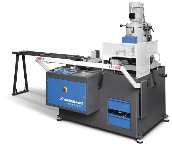 Metallkraft Automatische hydraulische Vertikal-Metallkreissäge im Aktions-Set mit Sägeblatt  MKS 350 VA Aktions-Set
